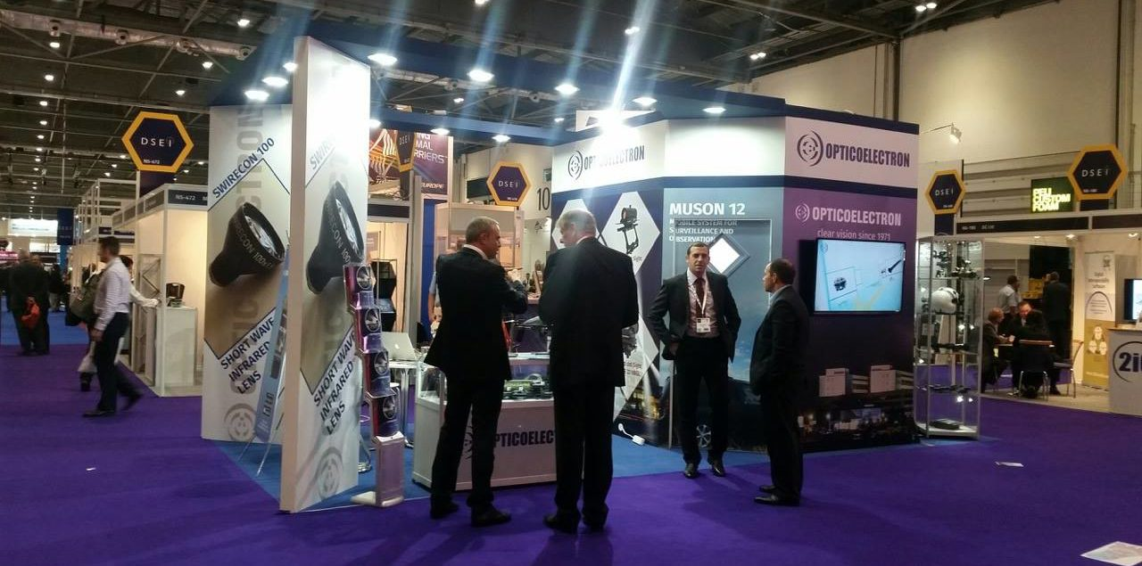 Dsei 2015 The Products Of Opticoelectron Group Synonym Of Innovation And Excellent Quality Opticoelectron